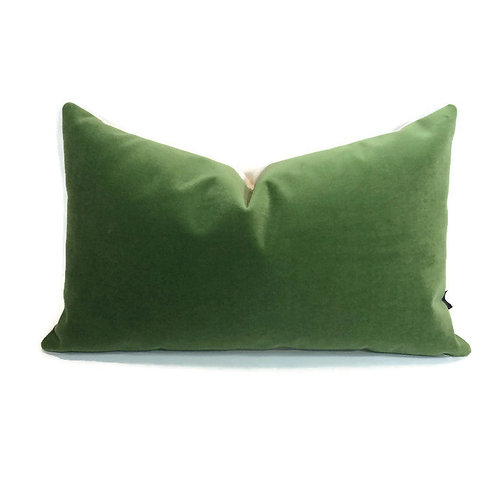Schumacher Velvet Lumbar Pillow