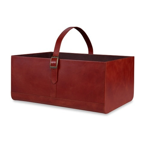 Kenilworth Basket, Leather