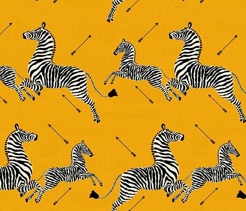 Scalamandre Zebras Indoor-Outdoor in Yellow