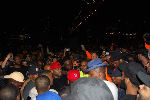 """NASIR"" album premiere in Queensbridge - Kanye West"