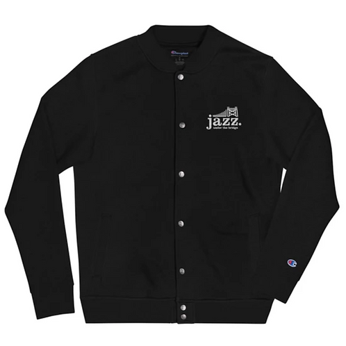 Jazz Under the Bridge Champion Bomber Jacket