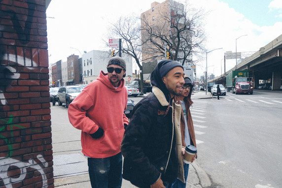 MWill leads The Soul Dojo on a tour of Williamsburg, Brooklyn