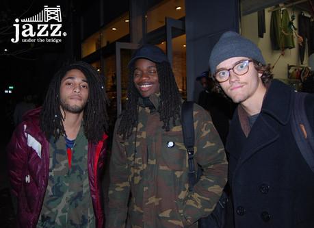 Julian, Mark, Stu
