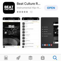 Beat Culture App (iOS)