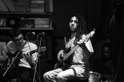 Julian Soto improvs on Bass