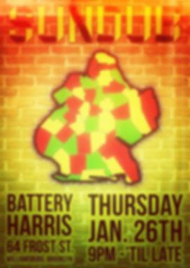 SUNDUB Live at Battery Harris