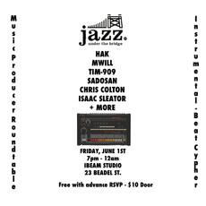June 1st - Producer Showcase