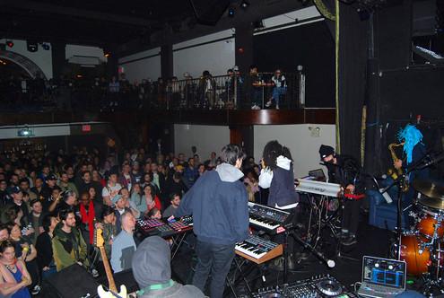 Backstage - JIL @ Bowery Ballroom 3/14