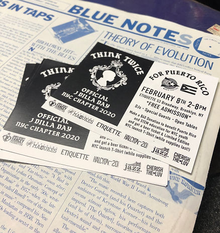 The prints and Blue Note