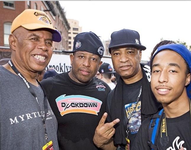 Edwing Birdsong, DJ Premier, DJ Marley Marl and MWill