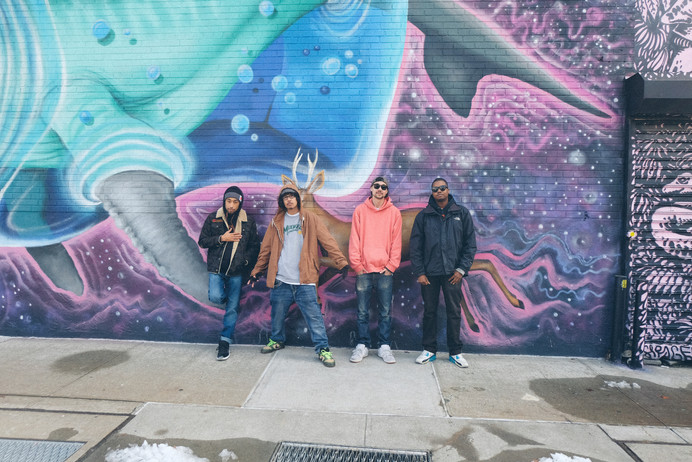 The Soul Dojo crew - Brooklyn 2018