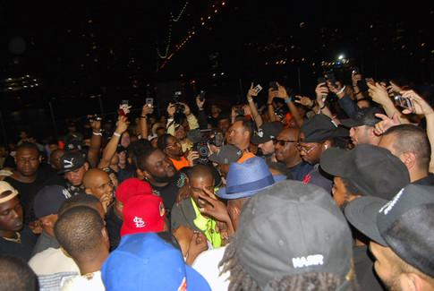 """NASIR"" album premiere in Queensbridge - Kanye West VI"