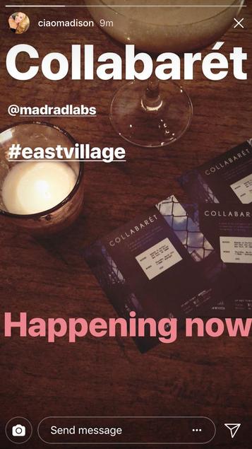 MadRadLabs + Jazz Under the Bridge presents #Collabarét 3/15