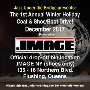 .IMAGE NY Coat drive with Jazz Under the Bridge
