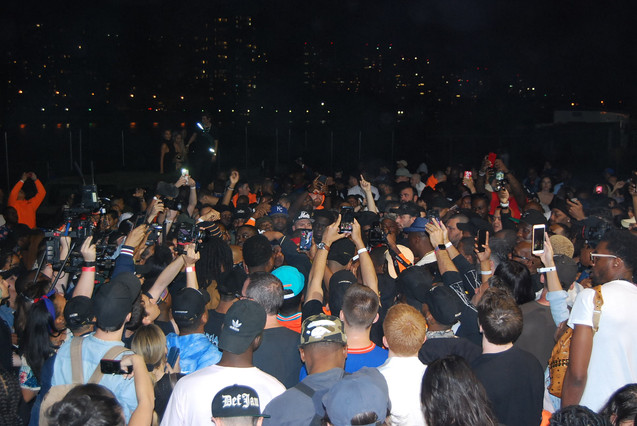 """NASIR"" album premiere in Queensbridge II"