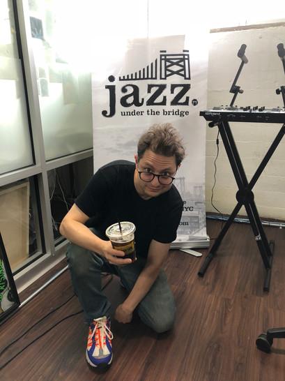 Nick Catchdubs for Jazz Under the Bridge