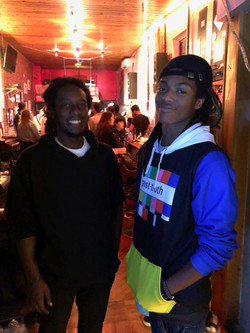 Amani Greene and DJ Young Slade