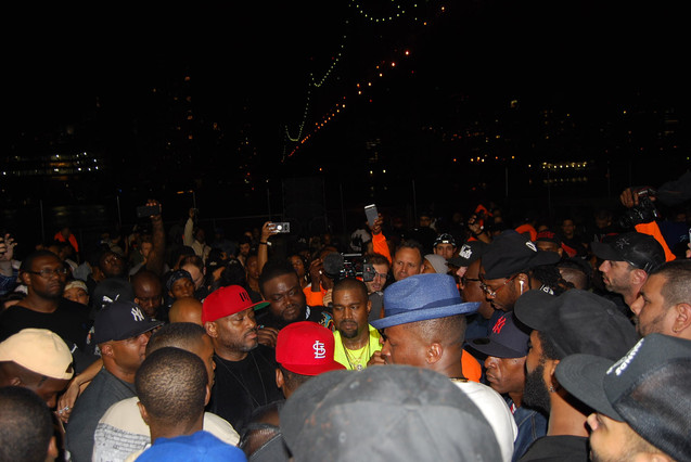 """NASIR"" album premiere in Queensbridge - Kanye West II"