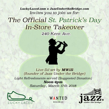 St. Patrick'a Day In-Store Takeover