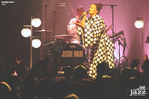 Jessie Ware performs 2nd SOLD OUT show at Brooklyn Steel - 5/8/18