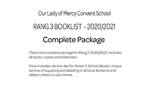 Our Lady of Mercy Convent School - Rang 3