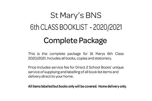 St Marys BNS 6th Class