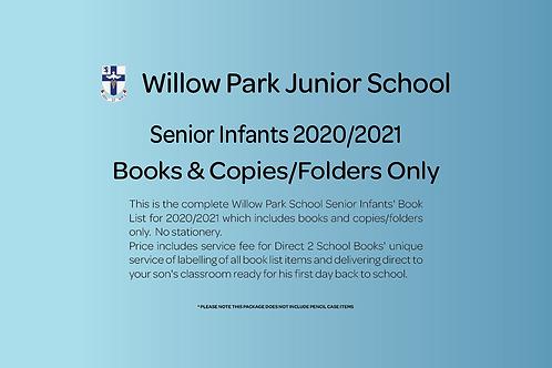 Senior Infants Books & Copies (no stationery)