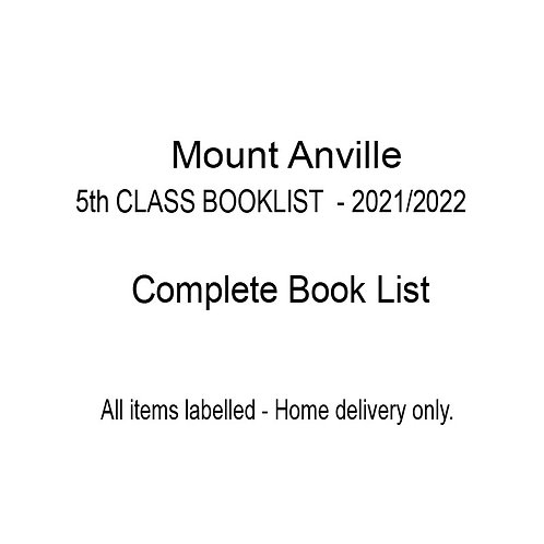 Mount Anville 5th Class