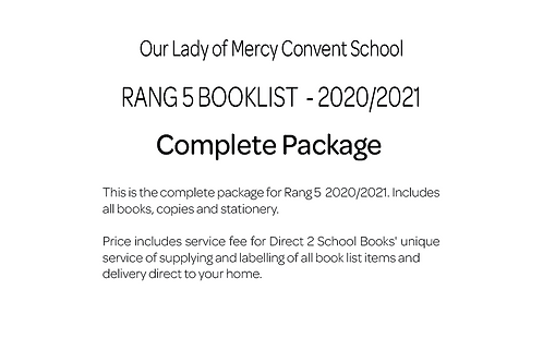 Our Lady of Mercy Convent School - Rang 5