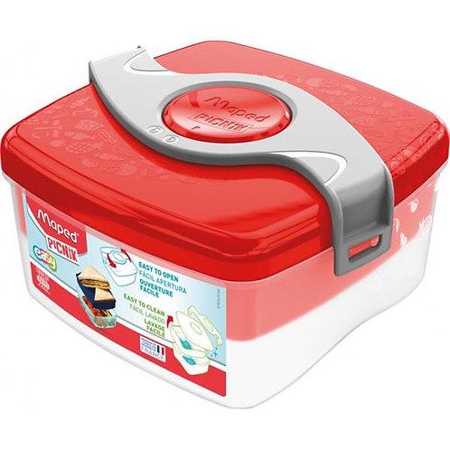 Picnik Origins Twist Sandwich Box - Red