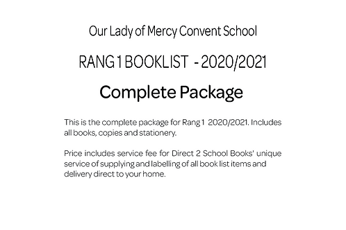 Our Lady of Mercy Convent School - Rang 1