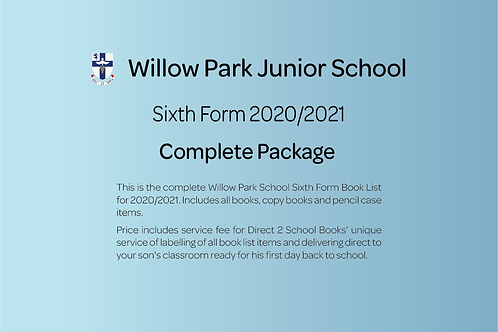 Sixth Form Complete Package