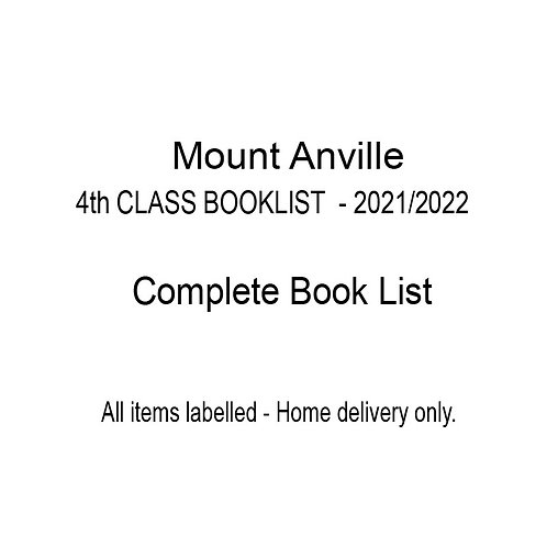 Mount Anville 4th Class