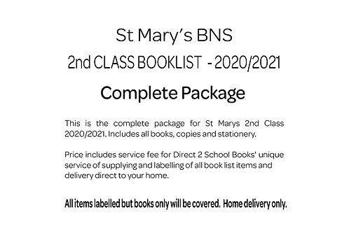 St Marys BNS 2nd Class