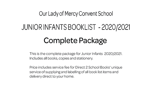 Our Lady of Mercy Convent School - Junior Infants