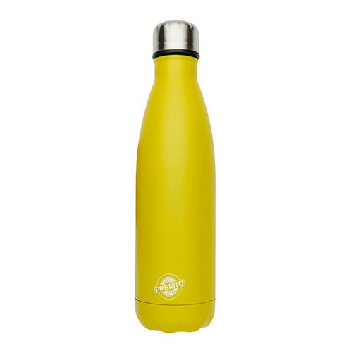 500ml Stainless Steel Reusable Yellow