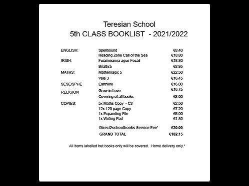 Teresian School 5th Class