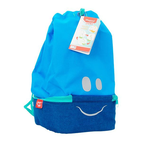 Picnik Concept Kids Figurative Lunch Bag - Blue