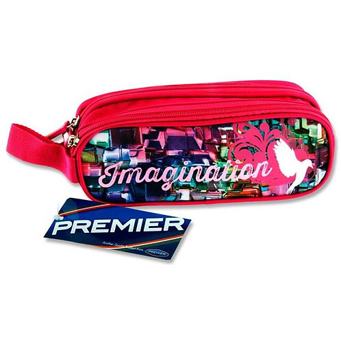 2 Pocket Pencil Case - Imagination
