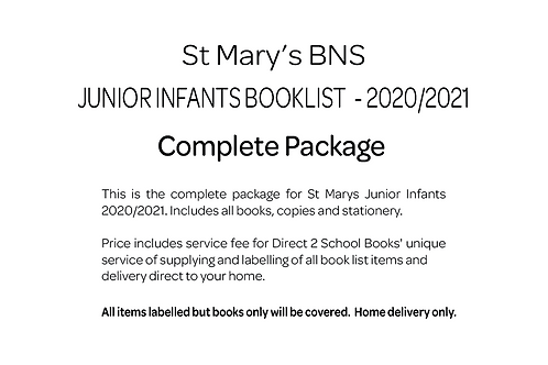 St Marys BNS Junior Infants