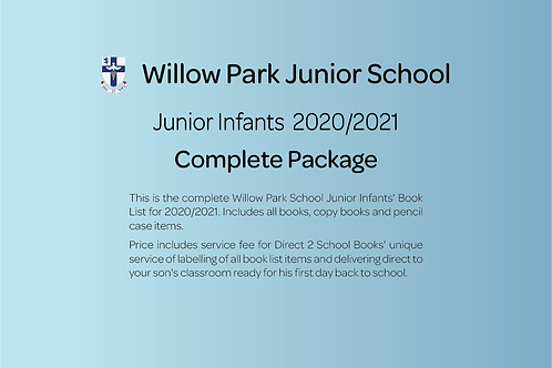 Junior Infants Complete Package