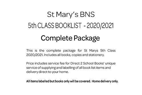 St Marys BNS 5th Class