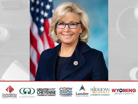 Congresswoman Liz Cheney Addresses COVID-19