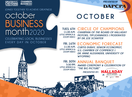 "Chamber of Commerce unveils, ""Business Month,"" a month-long campaign to highlight local businesses"