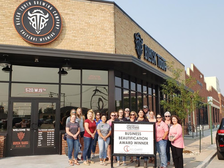 Black Tooth Brewing Receives Chamber Beautification Award