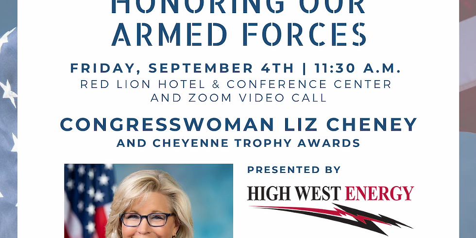 """Military September"" Greater Cheyenne Chamber Luncheon"