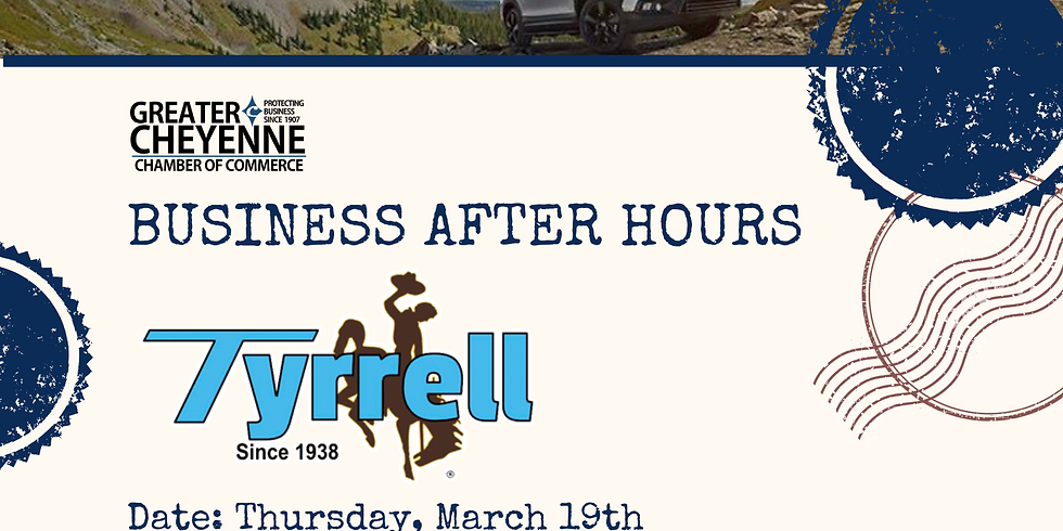 POSTPONED | Business After Hours: Tyrrell Chevrolet