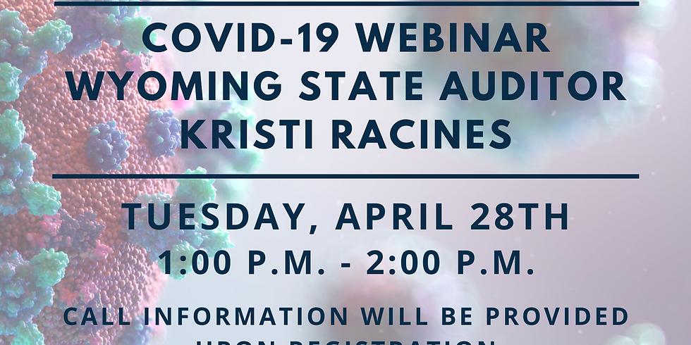 Webinar: State Auditor Kristi Racines