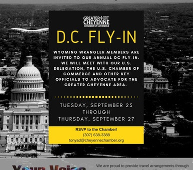Annual D.C. Fly-In September 25-27