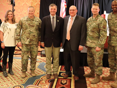 Military May Begins With Presentation Of Cheyenne Trophy Awards